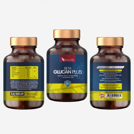 Herba Beta Glucan Plus 30 Kapsül-Bağışıklık Sistemi Güçlendirici