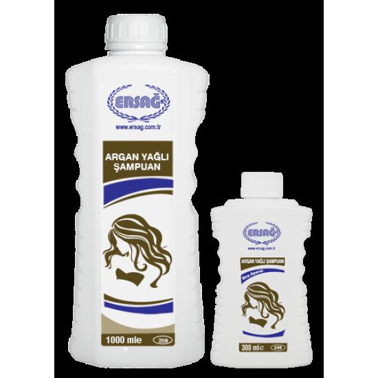Ersağ Argan Yağlı Şampuan 1000 ML. Aparatlı